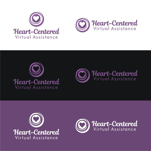 Feminine yet classy/elegant design for a Heart-Centered VA