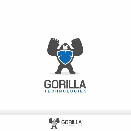 Animal logo for Gorilla Tech