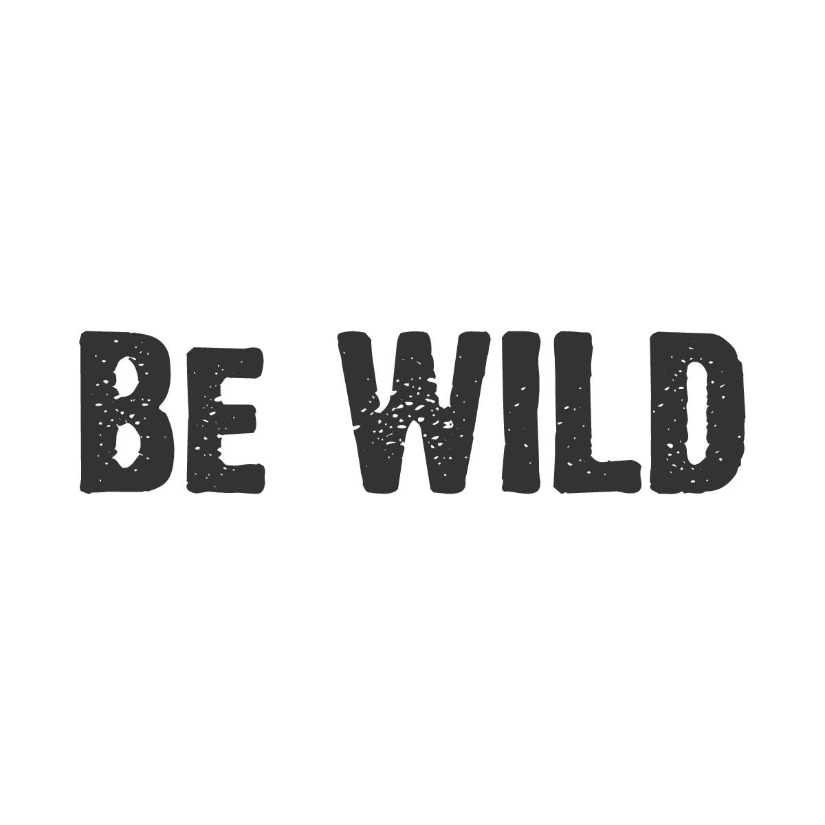 Be WILD Logo
