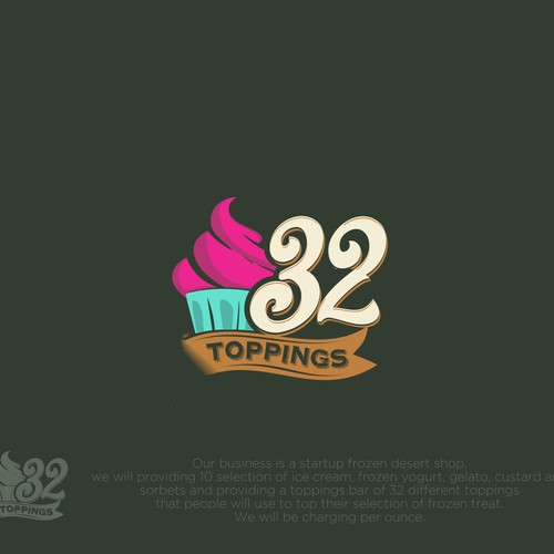 Design a fun yet powerful logo for Ice Cream/Frozen Yogurt Shop