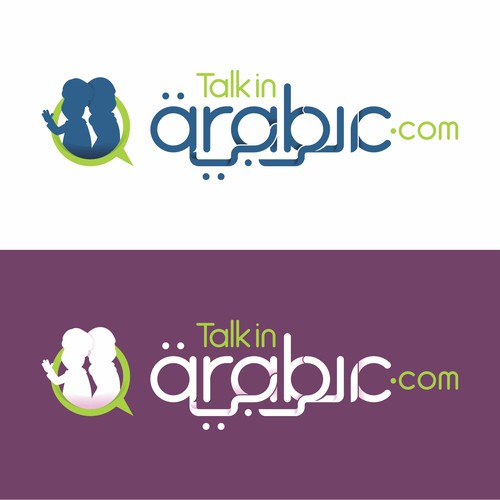 Combination Arabic word in Latin Letter and Arabic Letter