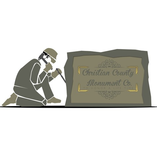 Create a NEW logo that exudes CLASS and TRADITION for our MONUMENT COMPANY!