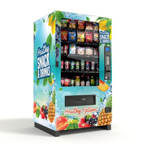 Healthy Vending Machine Wrap