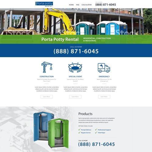 website for Porta potty