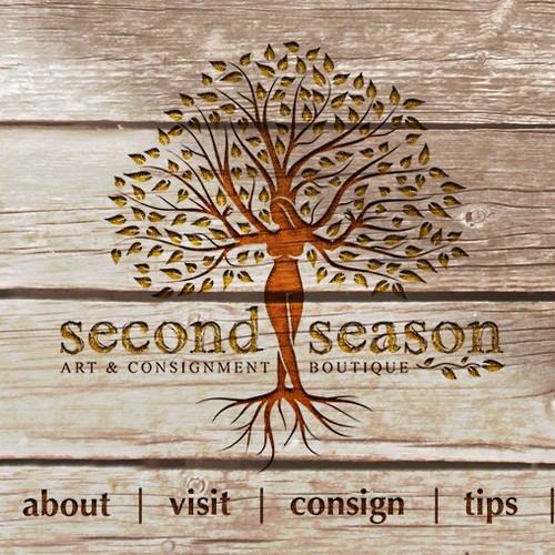 Creative Minds Needed for Fresh, Fun, and Artistic WordPress Design needed for Second Season Art & Consignment Boutique