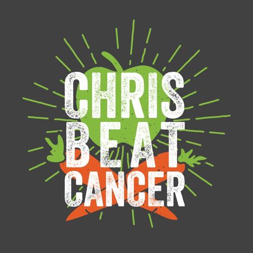 "Logo design for the ""Chris Beat Cancer"" blog"