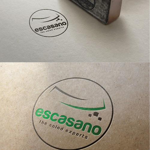 Create a new catchy logo for a premium saladbar!