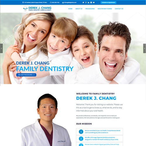 Redesign for a Dental Practise
