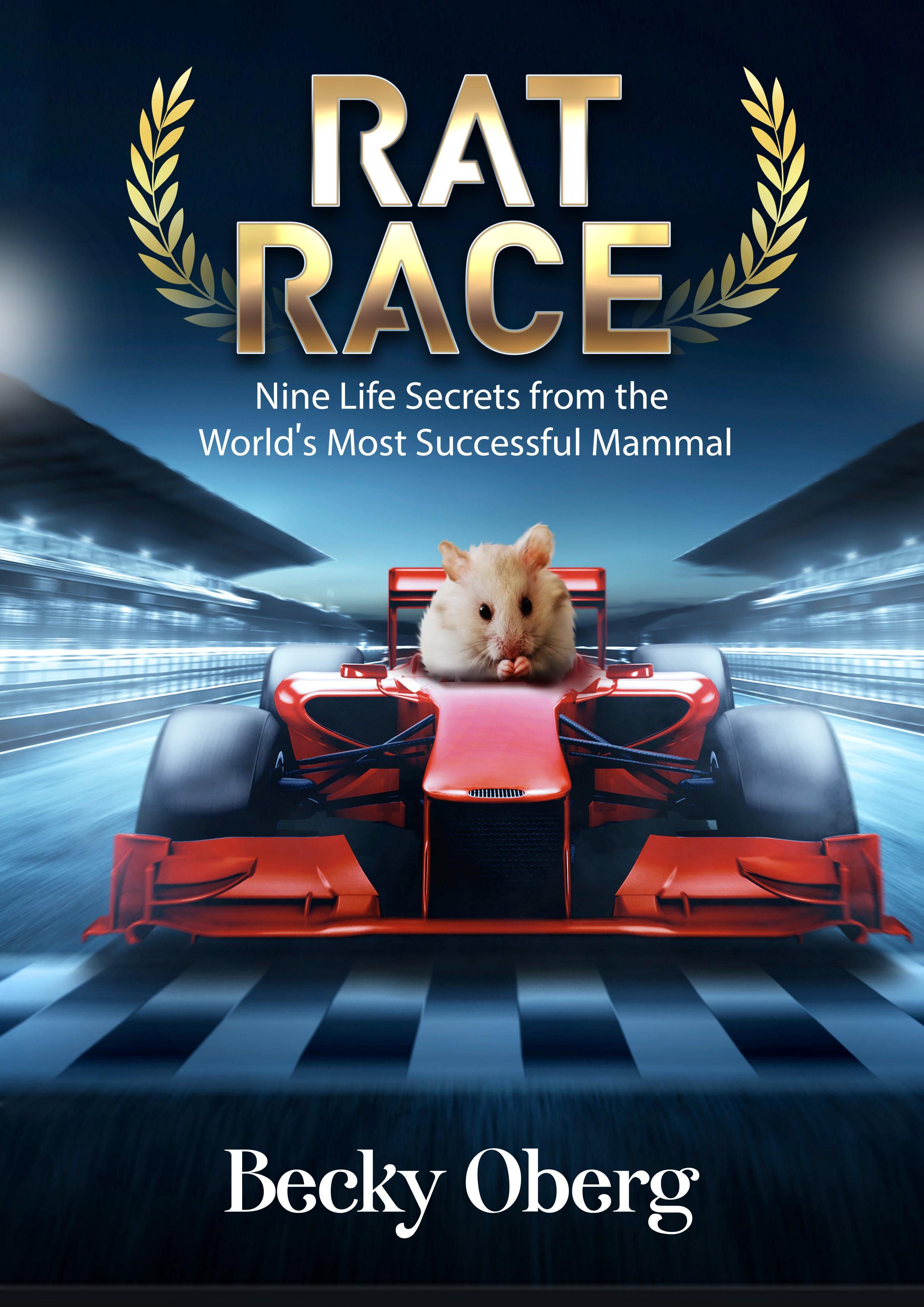 Rat Race e-book: Can you create a compelling cover featuring the world's most misunderstood mammal?