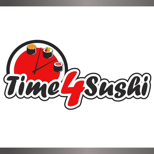 Create the next logo for Time4Sushi