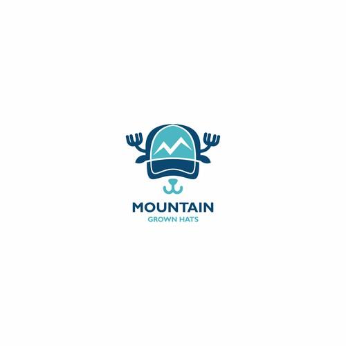 Unique logo concept for children's hat brand.