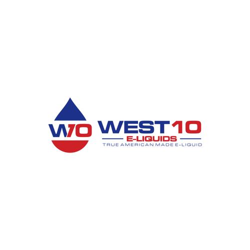 Create a Modern, Hip logo for WEST10 E-Liquids
