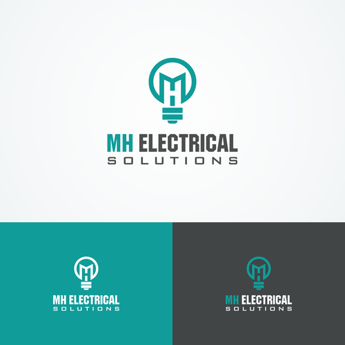 Create an iconic electrical contractors logo