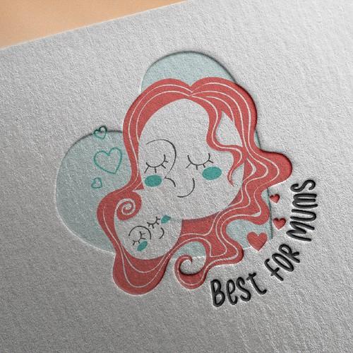 Logo concept for moms blog