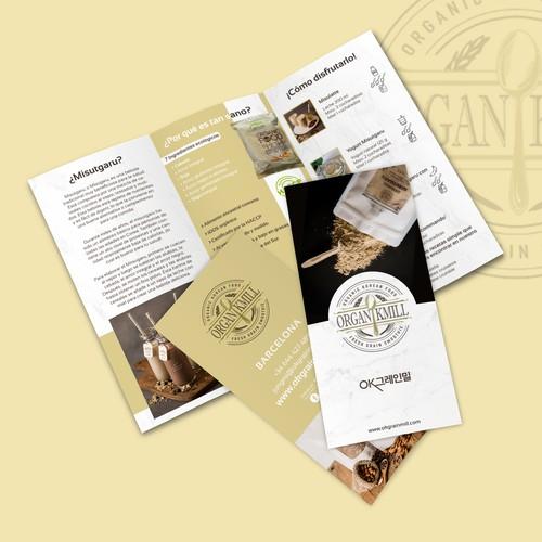 OrganikMill leaflet