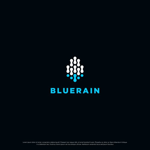 Tech logo for Blue Rain