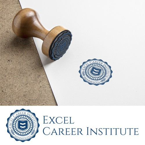 Excel Career Institute Official Seal