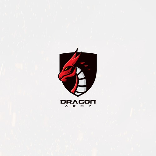 Strong logo for dragon army