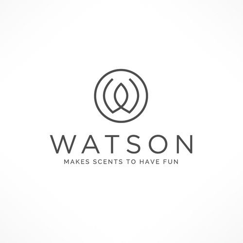 Logo for a candle company
