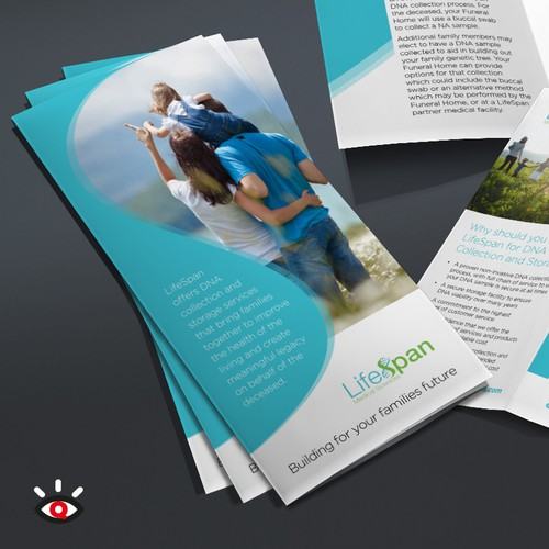 Create a visually capturing brochure fore Lifespan Medical Sciences