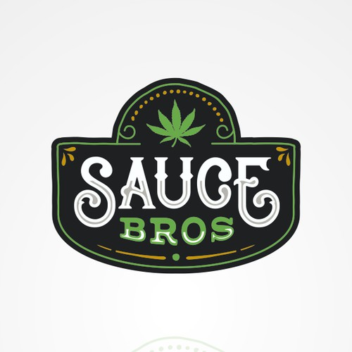 "Logo proposal for ""Sauce Bros""."
