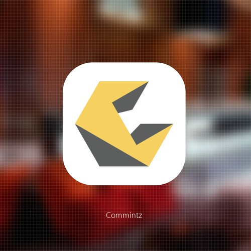 Design our social media and app button for Commintz, a collaborative platform for commercial interiors.