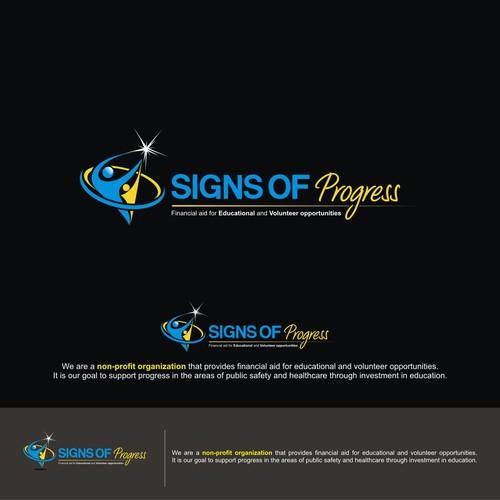 Sign of progress logo