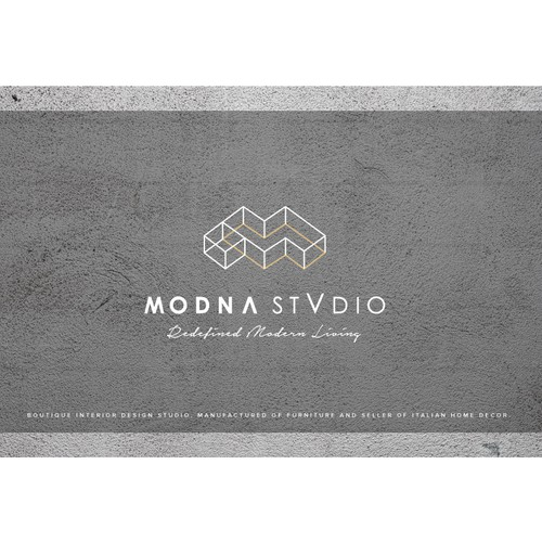 Logo for Boutique Interior Design Studio