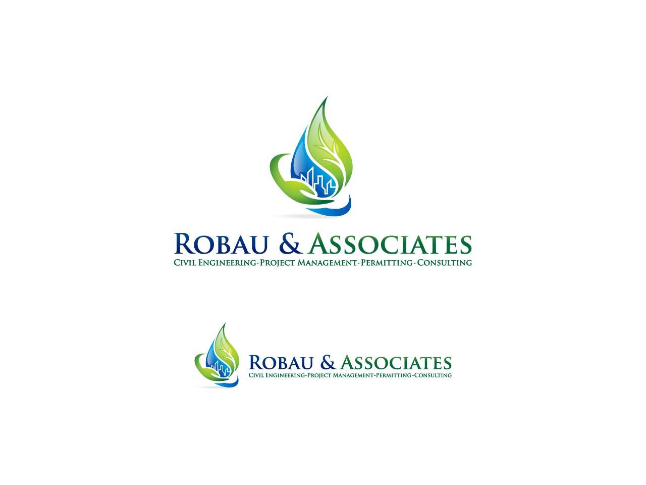 Create the next logo for Robau and Associates