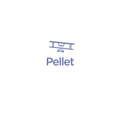 pellet logo design
