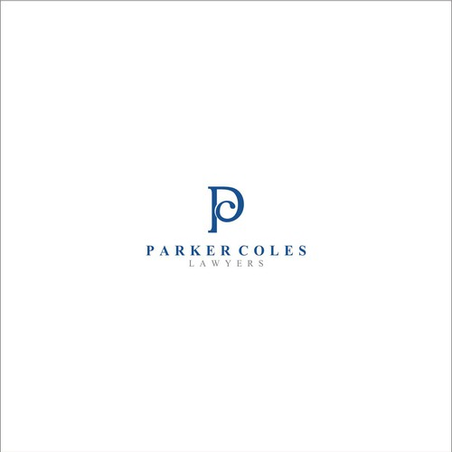 Logo concept for Parker Coles Lawyer