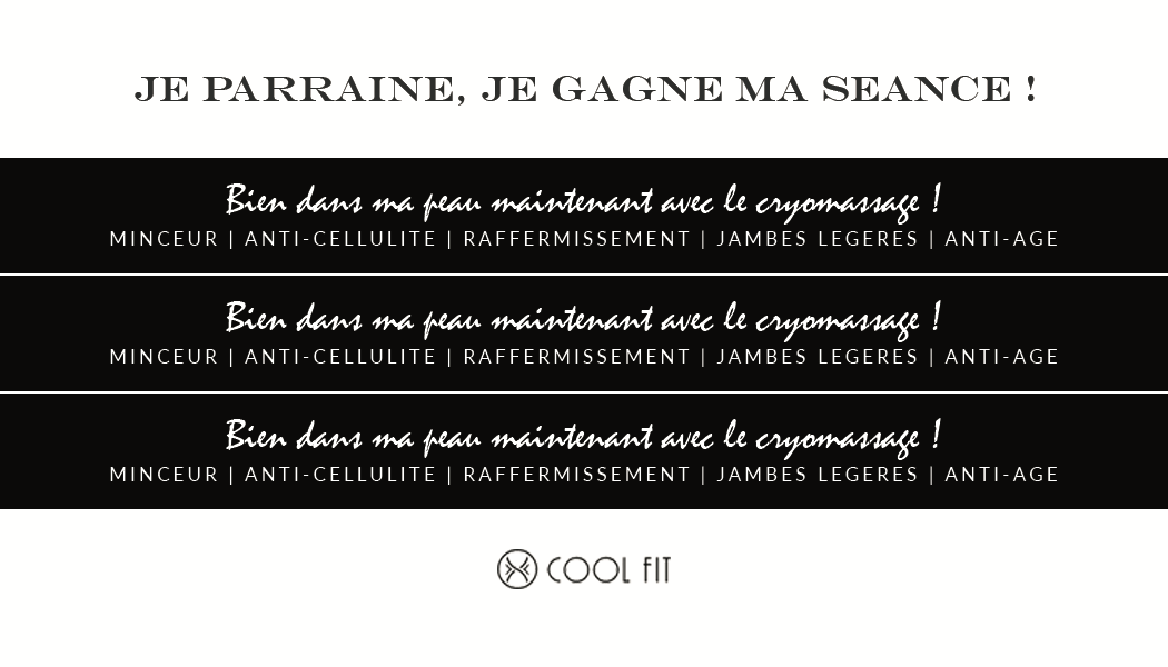 coolfit.fr advertising designs with Mrs. Morgane Lucchini