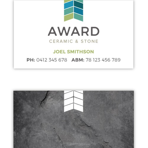 Logo for a Ceramic Tile company