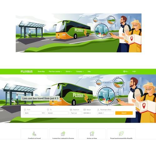 Ilustrations for website