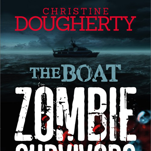 Zombie Boat Book Cover for Christine Dougherty