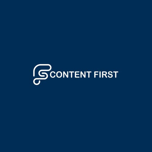a logo for Digital marketing agency Content First
