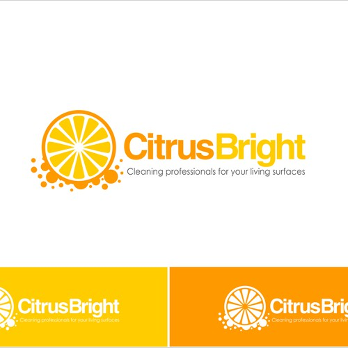 New logo for a cleaning company startup