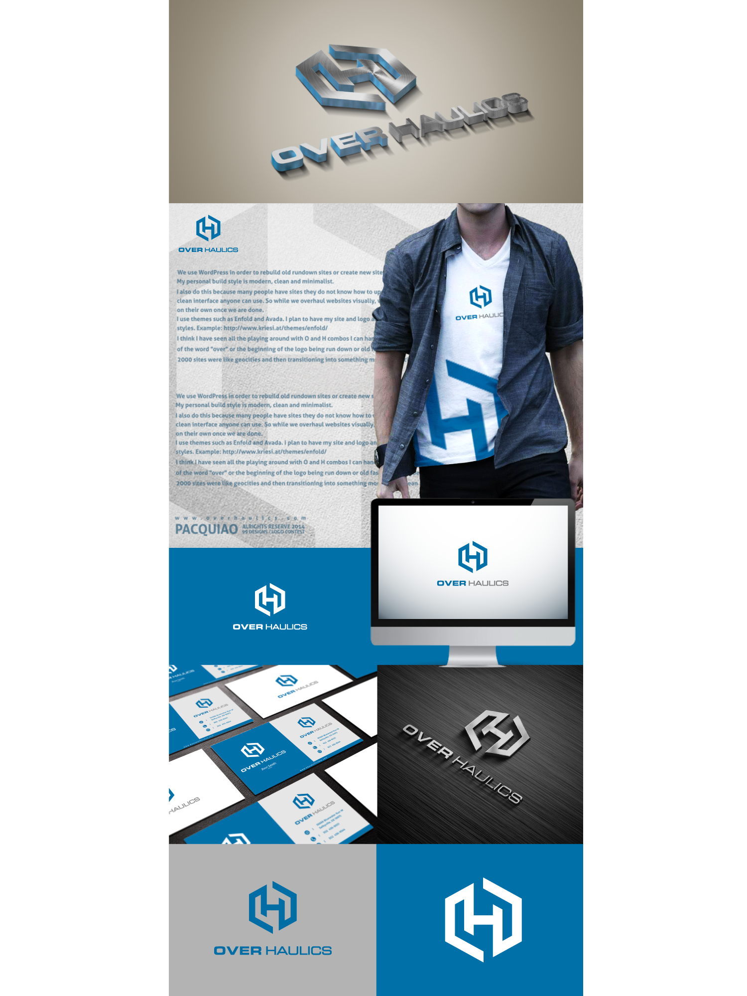 Need a logo as creative and eye catching as the websites we produce.