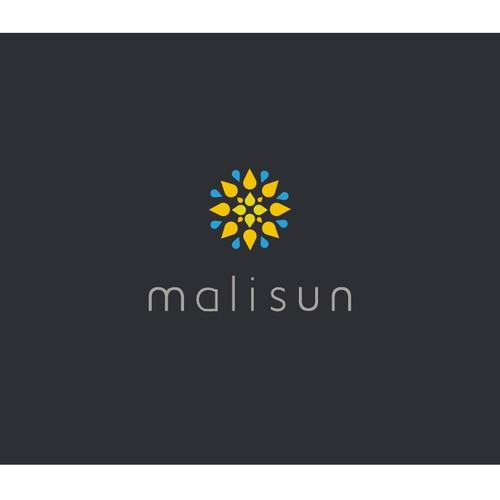 Logo design for beautiful Malisun.