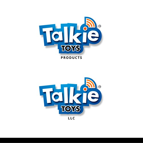 Logo design for Talkie Toys