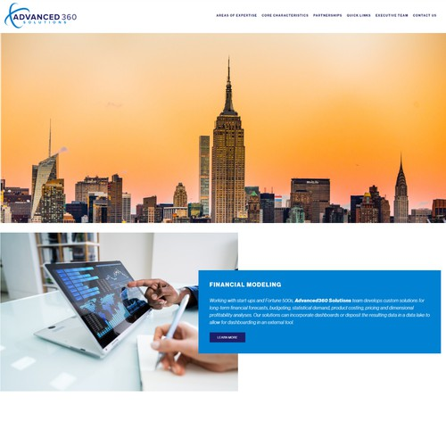 Website - Technology Services Company