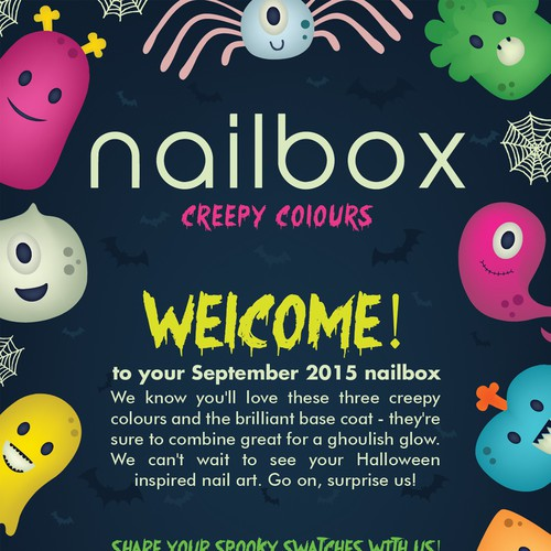 Nailbox Halloween Flyer