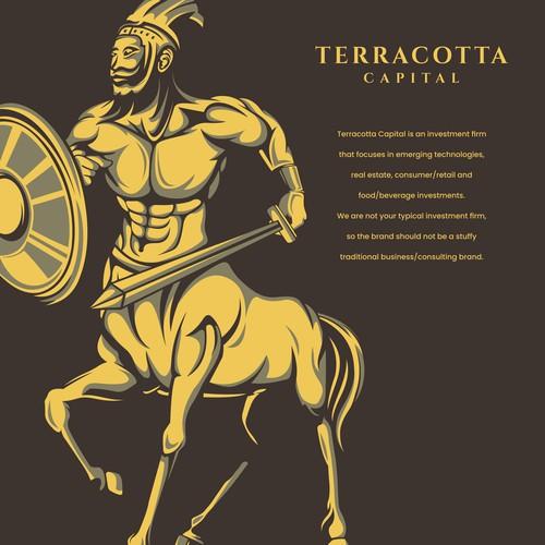 Terracotta warrior logo concepts