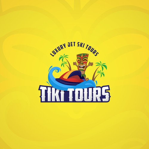 "Identity Design for ""Tiki Tours"""