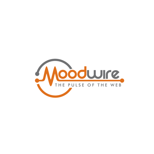 """Create the ultimate logo for """"Moodwire: The Pulse of the Web""""!"""