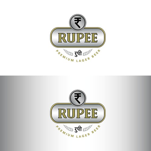 Authentic Style Indian Beer Logo