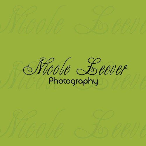 Create the next logo for Nicole Leever Photography