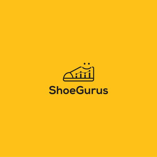 Striking logo for Shoe Gurus