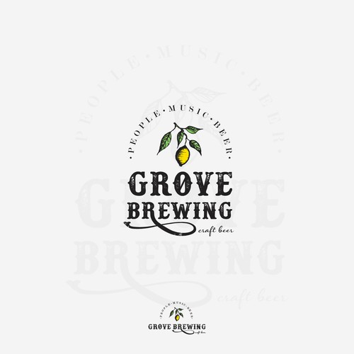 brewing logo design