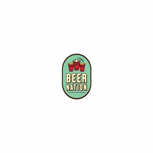 Logo for drinking game company